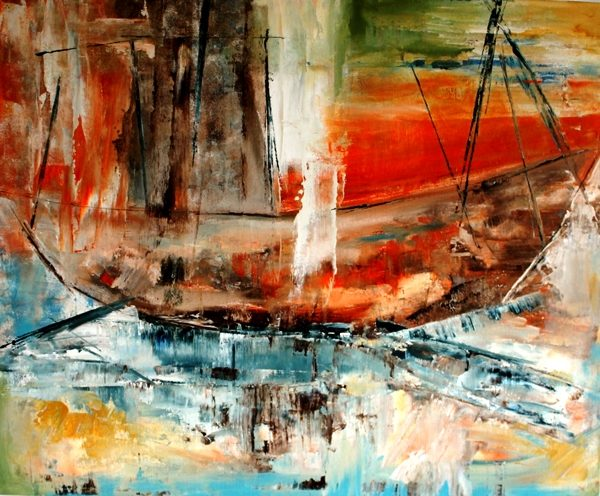 Boat on Isle Grande - SOLD