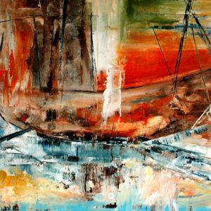 Boat on Isle Grande - SOLD