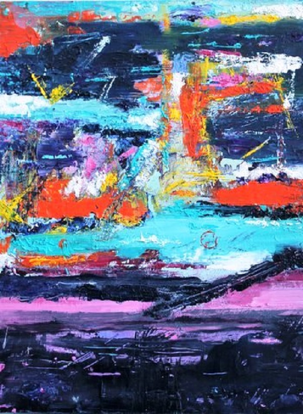 Midnight Landscape, after Rae