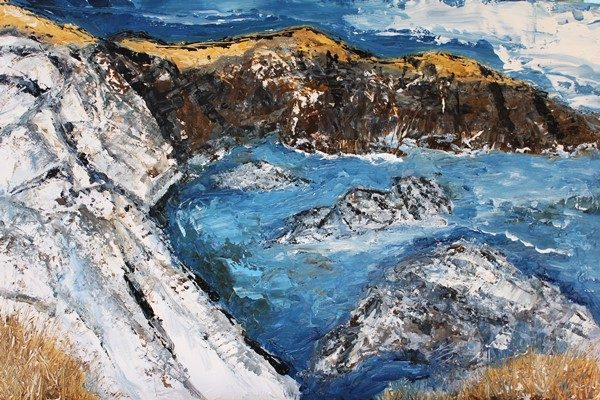 Cliff and Sea 600x400