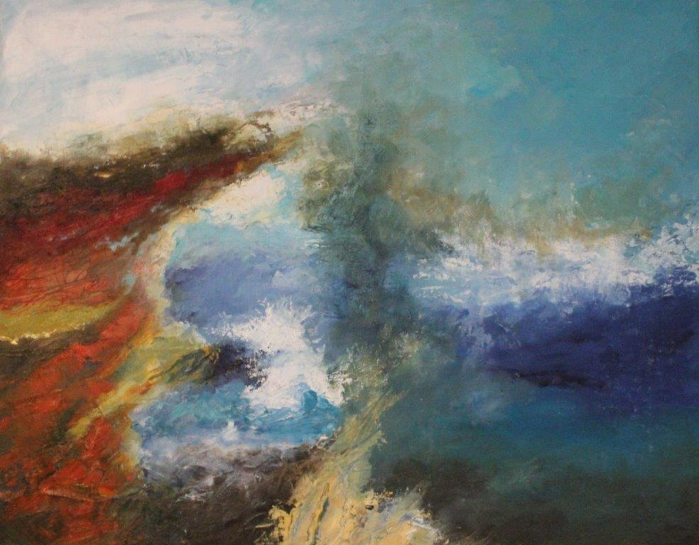 Approaching Storm, Oils, £375