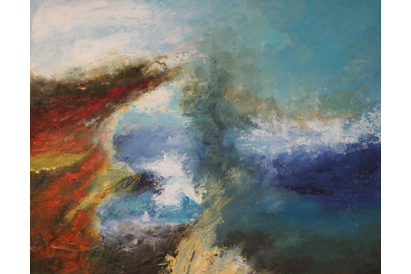 Approaching Storm, Oils 600x400