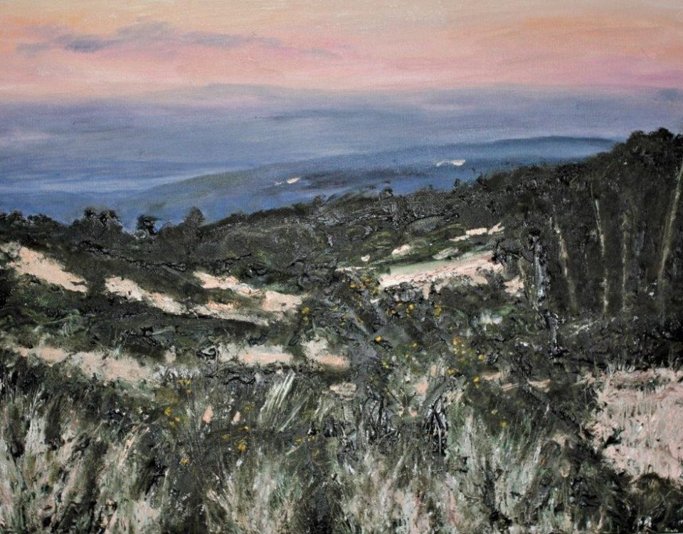 Ashdown Forest at Dusk, Oils, £195