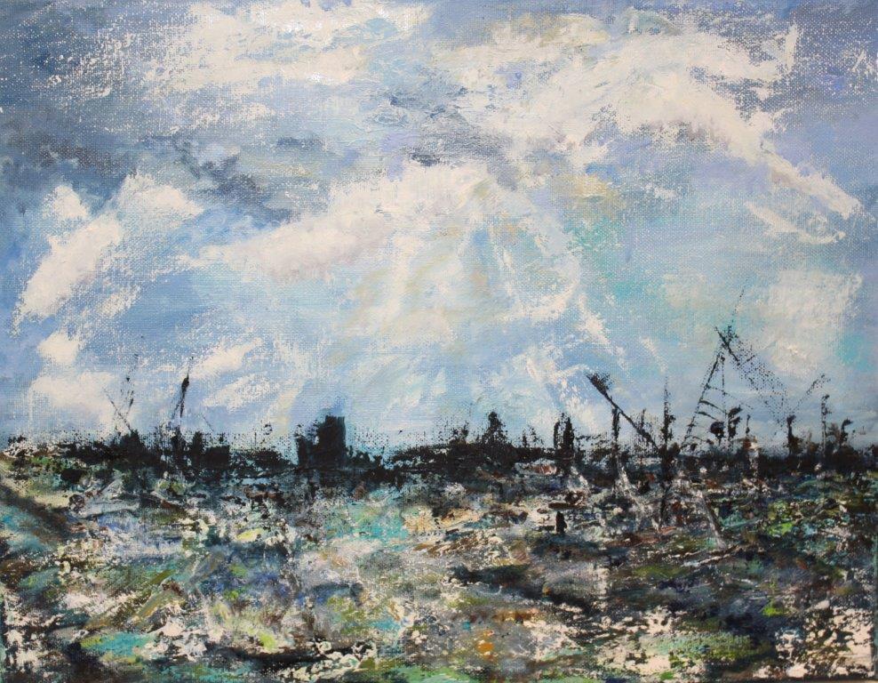 Thames Skyline, £175