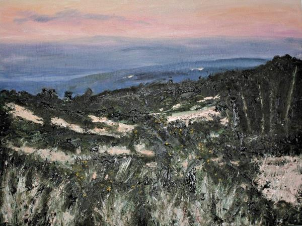 Ashdown Forest at Dusk, Oils, £195 600x449